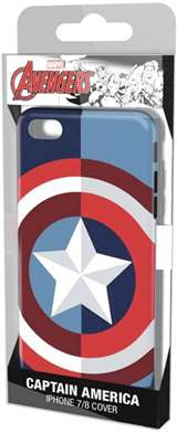 Tribe Tribe iPhone 7/8 Hood Case Captain America
